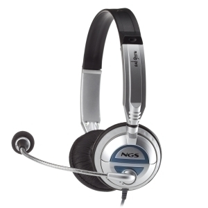 AURICULARES CON MICRO NGS MSX6 PRO JACK 3,5MM
